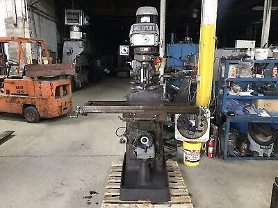 Millport Vertical Milling Machine 10 X 50 Table With Tooling
