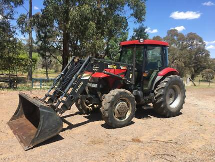 Case JX95 Tractor and loader