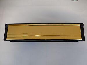 12-GOLD-LETTER-BOX-FOR-uPVC-PVC-TIMBER-DOORS-Letterbox