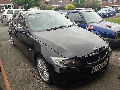 2005 55 BMW 3 Series e90 325i SE 4 Door Auto in Metallic Black, FSH, 84426 miles