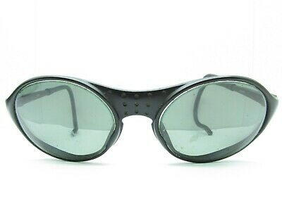 Vintage JULBO SHERPA Mountaineering Sport GOGGLES FRAMES black cable round (Vintage Mountaineering Goggles)