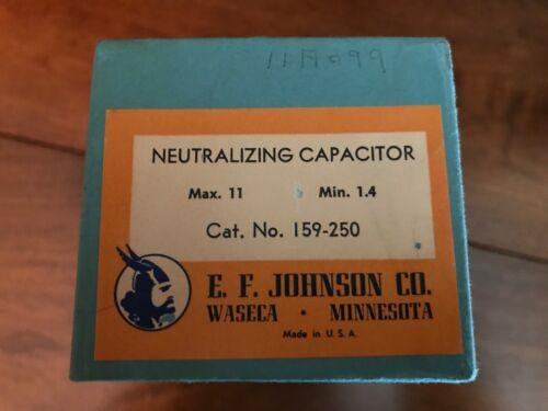 E.F. JOHNSON Neutralizing Capacitor Max. 11/Min. 1.4