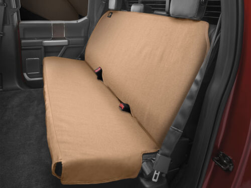 Pleasant Details About Weathertech Medium Highback Bench Seat Protector For Trucks Cars Suvs In Tan Theyellowbook Wood Chair Design Ideas Theyellowbookinfo