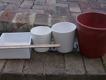 pots - terra cotta and self watering etc Mosman Mosman Area Preview