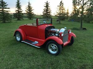 1928 Ford model a hot rod.