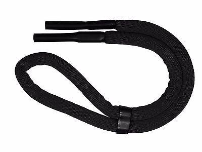Schwimmfähiges Brillenband Schwarz Brillenhalter Brillenkordel Neopren Sportband