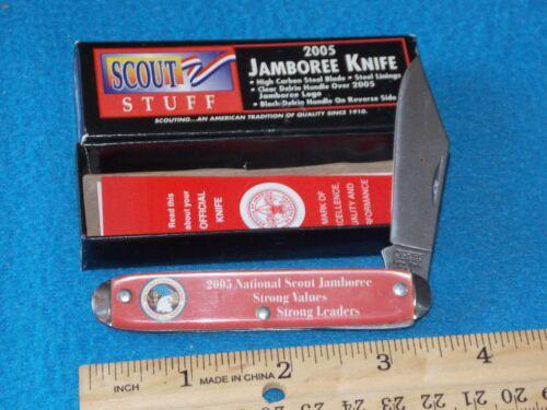 2005 - National Jamboree Pocket Knife - 3 1/2 INCH CLOSED