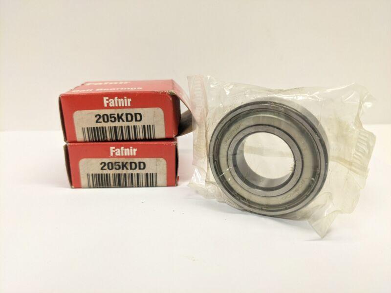 "TIMKEN/FAFNIR 205KDD Lot of 2 Bearing Double Steel Seal 25x52x0.5906""mm-New"