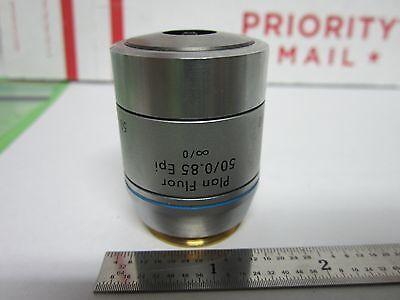 Microscope Leica Reichert Polyvar Objective Fluor Epi 50x Infinity Binf1-v-41