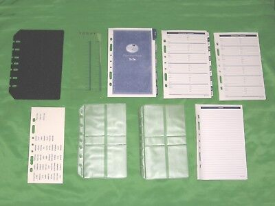 Classic At A Glance Planner Tab Page Fill Lot Franklin Covey Refill 164