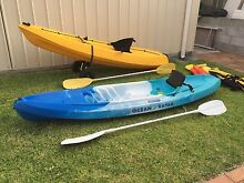Sea Kayak x2 with Paddles, Seats and Life Jackets Bracken Ridge Brisbane North East Preview