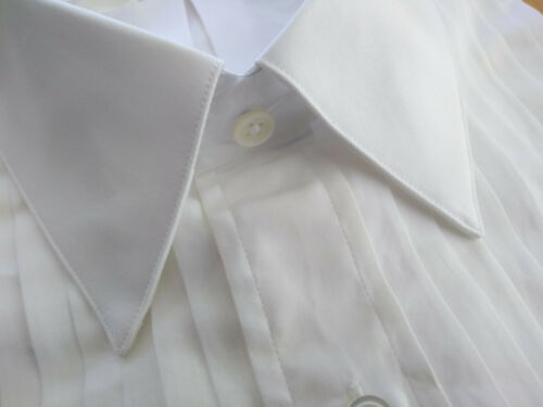 NWT Brooks Brothers White Formal Shirt 16.5-34 Traditional Fit MSRP $135