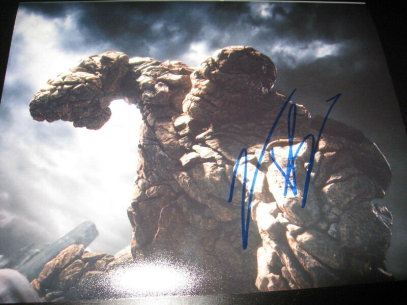 JAMIE BELL SIGNED AUTOGRAPH 8x10 PHOTO FANTASTIC FOUR THING PROMO COA AUTO NY X2