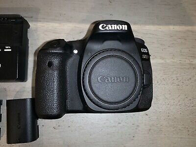 Canon EOS 80D 24.2 MP Digital SLR Camera (with EF-S 18-135mm Lens) + accessories