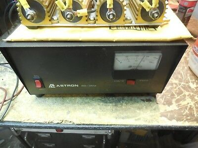 Astron Rs-35m 35 Amp Peak Power Supply Works