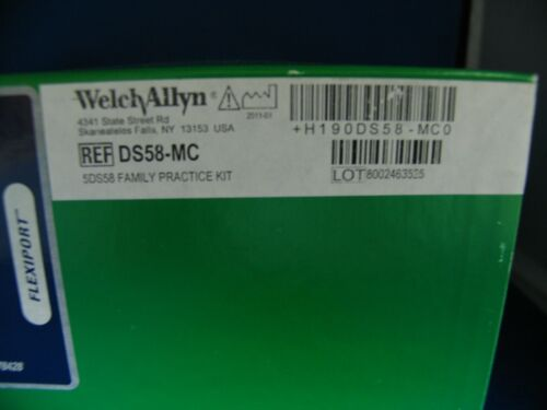 WELCH ALLYN HANDHELD FAM PRACTICE BP GAUGE AND ADULT CUFF DS58-MC  4 CUFFS