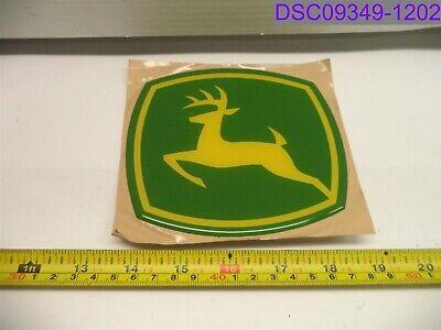 Qty 4 Oem John Deere Equipment Adhesive Emblem 5-18 X 4-12