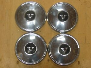 Set of 1968 Volvo 122 Hubcaps for Sale!