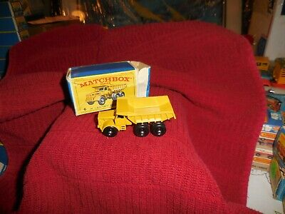 Vintage Matchbox 6 Euclid Truck W/Box 2