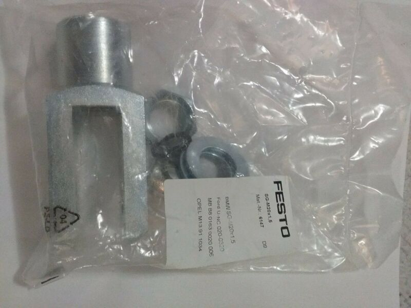 Festo 6147, SG-M20x1,5. Rod Clevis & Pin kit, New! Skybay-dr11-mb