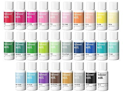 COLOUR MILL OIL BASED PROF CONCENTRATED ICING COLOUR 2OML CHOICE OF 29 COLOURS