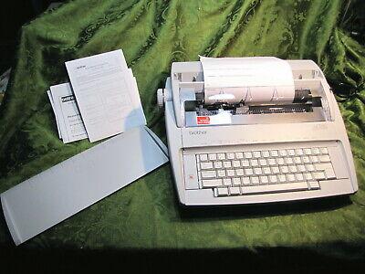 Brother Electronic Type Writer Gx 6750 Daisy Wheel Correctronic