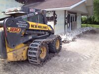 Concrete Cutting and Bobcat skidsteer   work