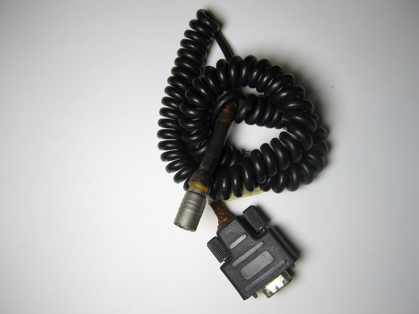SOK Coiled Cable For HP 48GX Hard Case to Total Station: Topcon