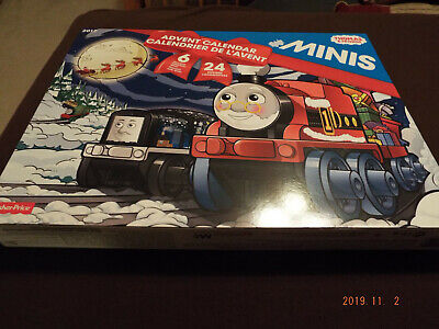 "Fisher-Price ""Thomas & Friends"" Minis Advent Calendar Train Set 2017 BRAND NEW"