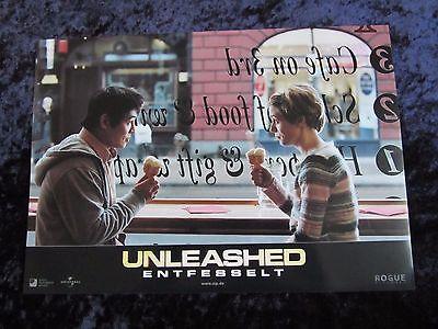 Unleashed lobby cards/stills - Jet Li, Morgan Freeman