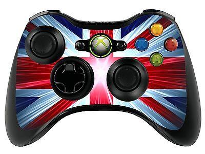 Union Jack Xbox 360 Remote Controller/Gamepad Skin / Cover / Vinyl Wrap xbr16