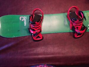 Burton Snowboard, Boots and Bindings for sale