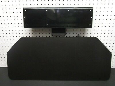 Herman Miller Large 27 Keyboard Tray System Black With Arm Under Desk