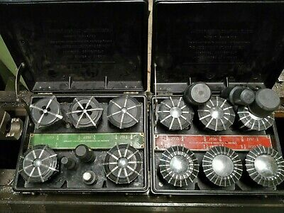 Lot Of Jacobs Rubber Flex Collets 116 - 1 38  J910- J920 With Plugs