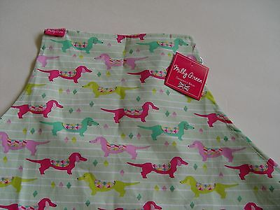 NEW Milly Green Dachshund Apron Wiener Dog NWT
