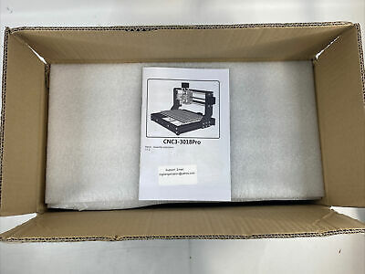 New - Cnc3-3018pro 3 Axis Cnc Router Laser Engraver