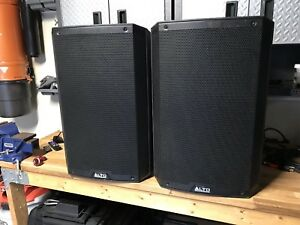 Alto TS215 Powered Monitors (Pair) *** NEW PRICE ***