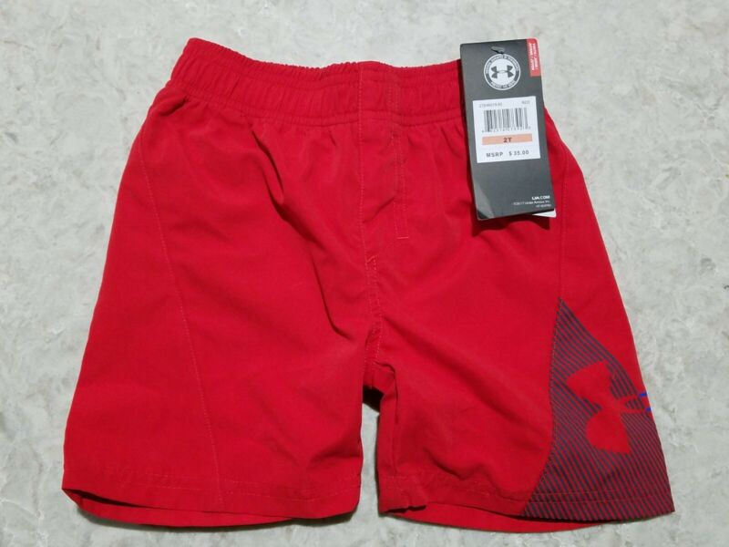 NEW with tags Under Armour Heatgear Youth Swim trunks 2T - MSRP $35 - FREE SHIP