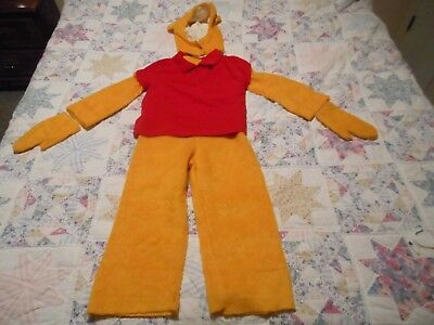Winnie the Pooh Homemade Vintage 1960s Children's Halloween Costume Ages 9-14](Homemade Childrens Halloween Costumes)