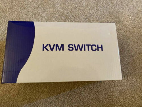 Switch 2 Usb Kvm Dual Monitor Switcher Keyboard Mouse Cable Hdmi Vga Dvi 4Kx2K