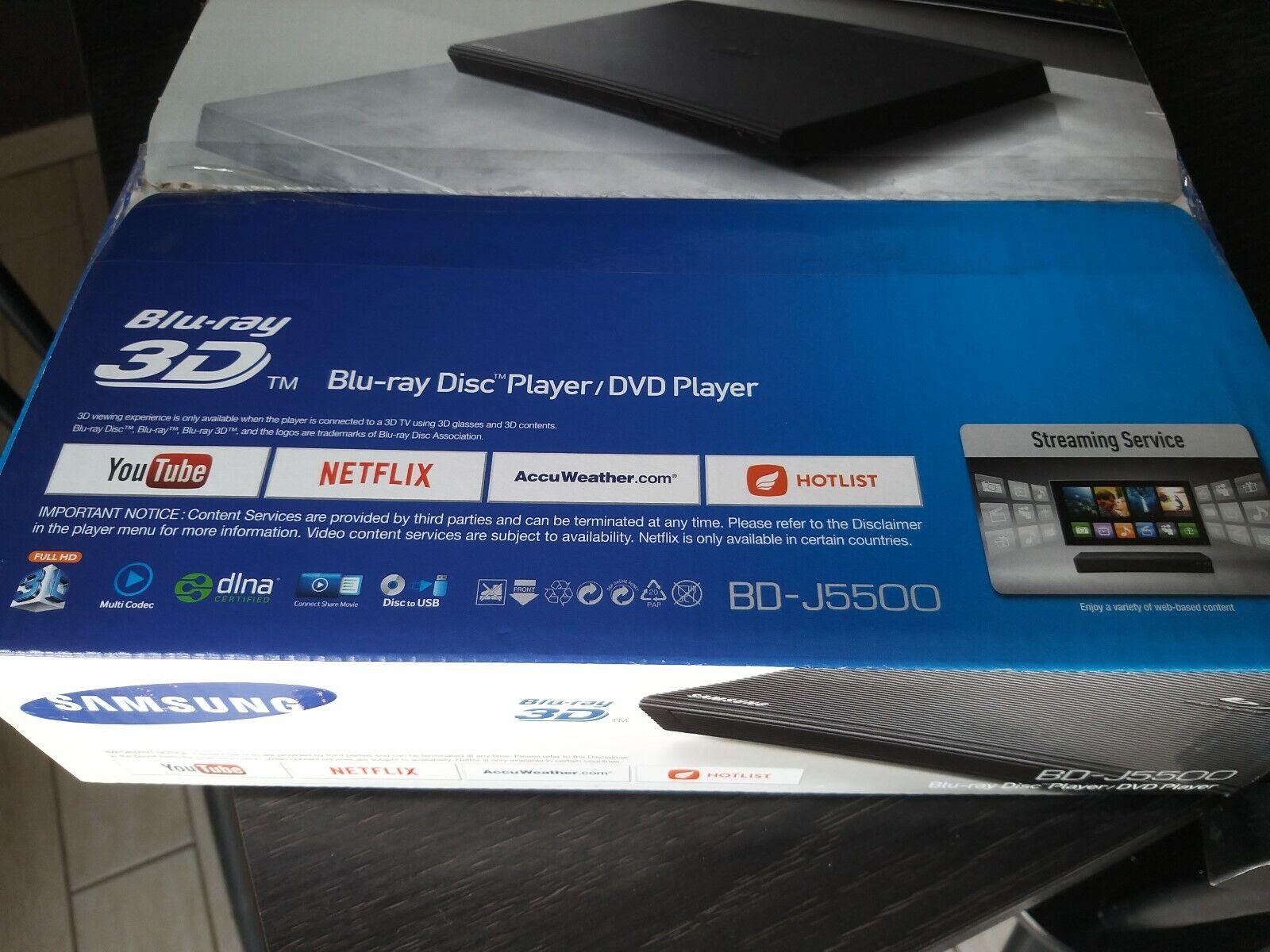 Samsung BDJ-5500 Curved 3D Blu-ray Player Schwarz