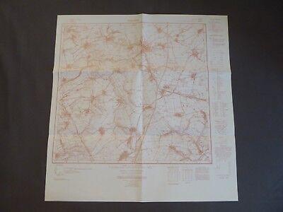 Landkarte Meßtischblatt 4937 Osterfeld, Weißenborna, Königshofen, Böhlitz, 1937