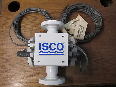 Unused Nos Isco Unimag Umb5f1x1r Magnetic Flow Meter 150psig 10ba Flanged