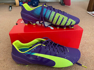 NEW Puma Football Boots Evospeed 1.3FG Size 10