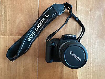 Fotocamera reflex digitale Canon EOS 350D + obiettivo 18-55 con borsa