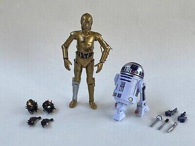 "Star Wars 6"" Black Series 40th Anniversary R2-D2 Amazon C-3PO Removable Limbs"