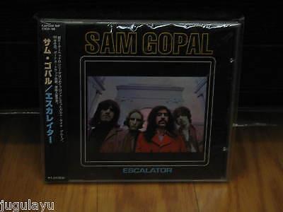 SAM GOPAL ESCALATOR 2 BONUS RARE OOP JAPAN CD