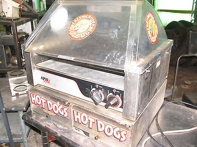 Apw Wyott Concession Hot Dog Roller Grill -30 Dog Capacity Hrs30