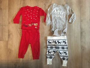 3-6m Gender Neutral Christmas Outfits