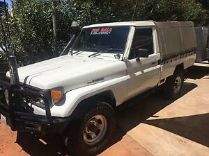1991 Toyota Land Cruiser HZJ75 Ute body with canopy Alice Springs Alice Springs Area Preview